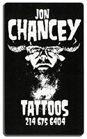 Jon Chancey Tattoo