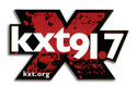 KXT Radio Station diecut sticker