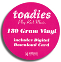 Toadies - vinyl sticker